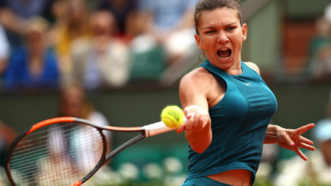 Simona Halep se califica in optimile de finala la Roland Garros